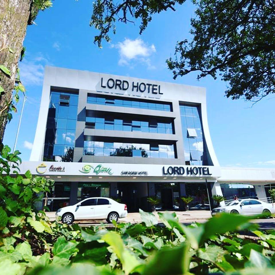 Fachada em ACM para o Lord Hotel em Cascavel/PR